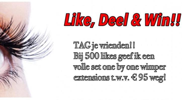 Like, Deel & Win!!